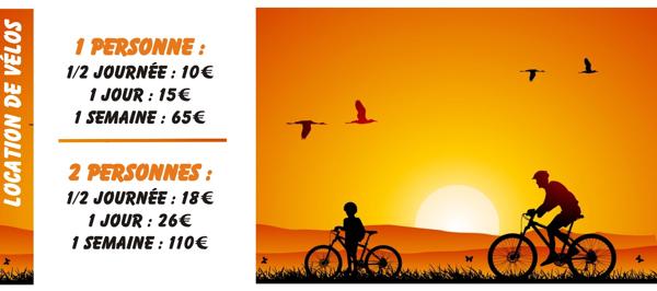 Noleggio bici e kayak