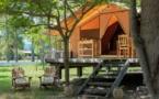 Lato Campeggio : Tenda in tela e legno / Eco-lodge