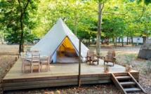 Lato campeggio, nuovo nel 2020 : Tenda safari per 4 persone, spirito glamping garantito